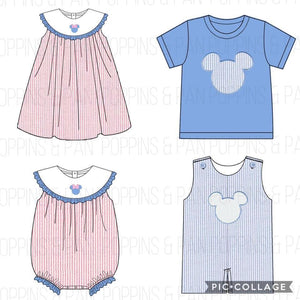 Valentine's Applique - Minnie Dress