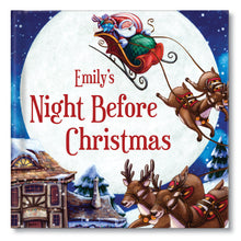 Load image into Gallery viewer, My Night Before Christmas Personalized Book