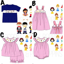 Load image into Gallery viewer, Disney Smock Collection - Dresses
