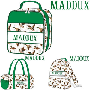 Smocked Personalized Duffels, Backpacks, & Lunchboxes
