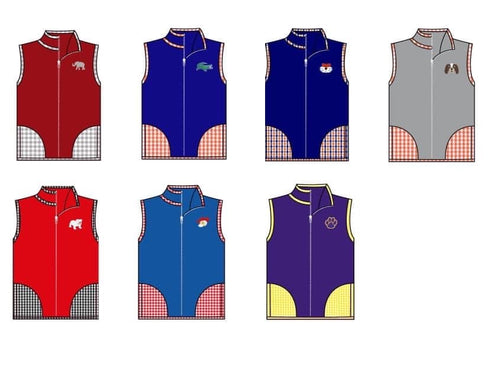 Boys College Vests