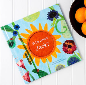 Who Loves Me? Personalized Storybook - BLUE
