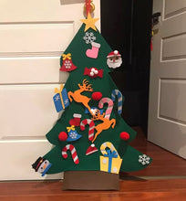 Load image into Gallery viewer, Felt Play Kids Christmas Tree