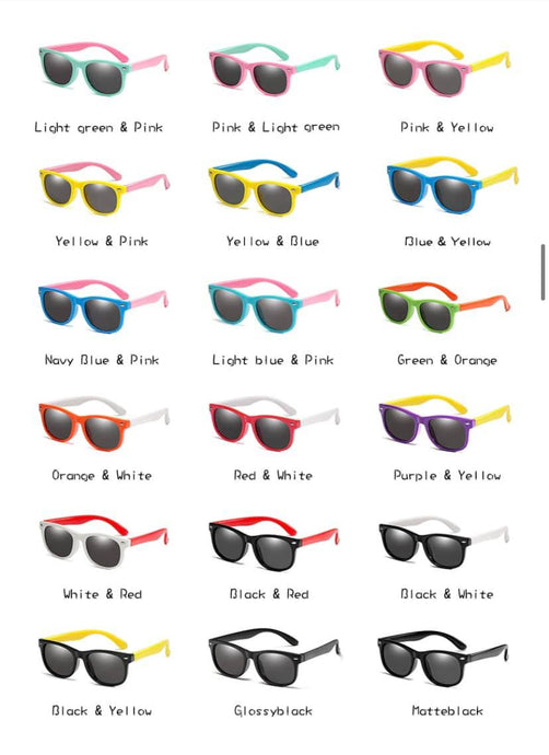 Kids Flexible Polarized Sunglasses