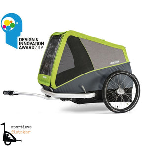 Croozer Dog Jokke hondenfietskar heeft Design & Innovation Award gewonnen 2019