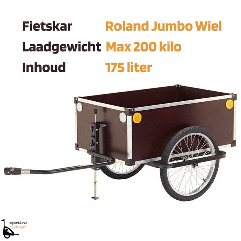 Image of Fietsaanhanger transport Ronald Jumbo Wiel