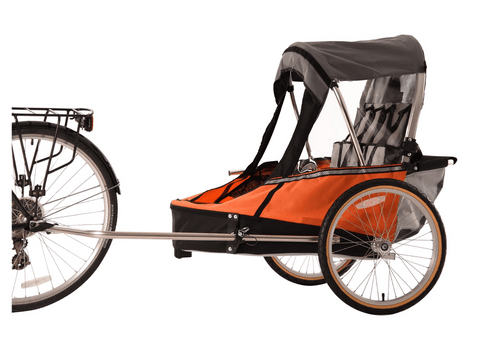 Image of Wike-Moonlite-double-oranje-fietskar