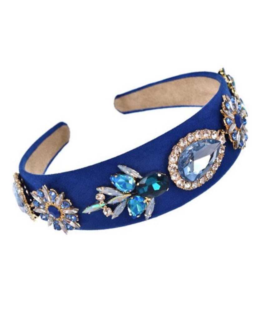 QUEEN rhinestone headband