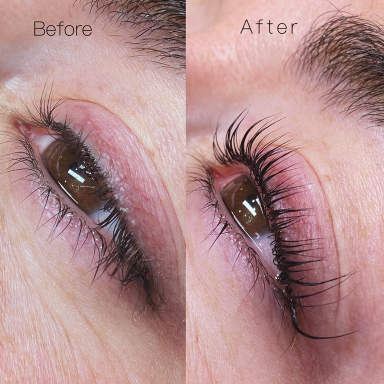 Keratin Lash Lift and Tint Service