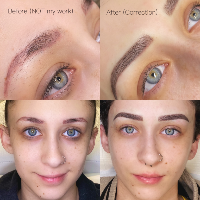 Signature Brows - Previous Artist Correction