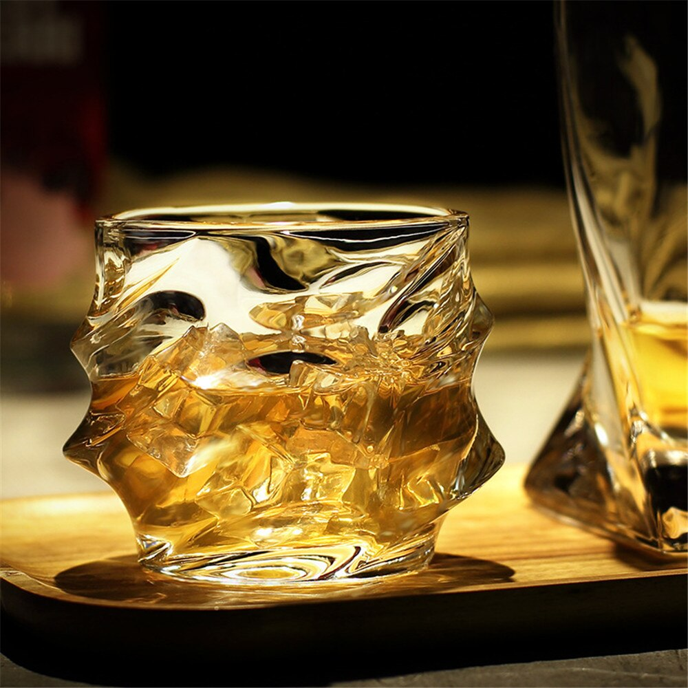 Whiskey Glass Crystal Drinking