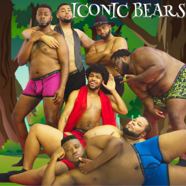 'Iconic Bears' in Bear Skn Underwear