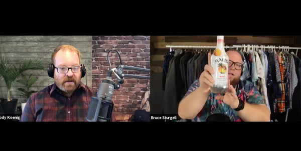 Episode 119 Bruce & Jody Make Beer Cocktails