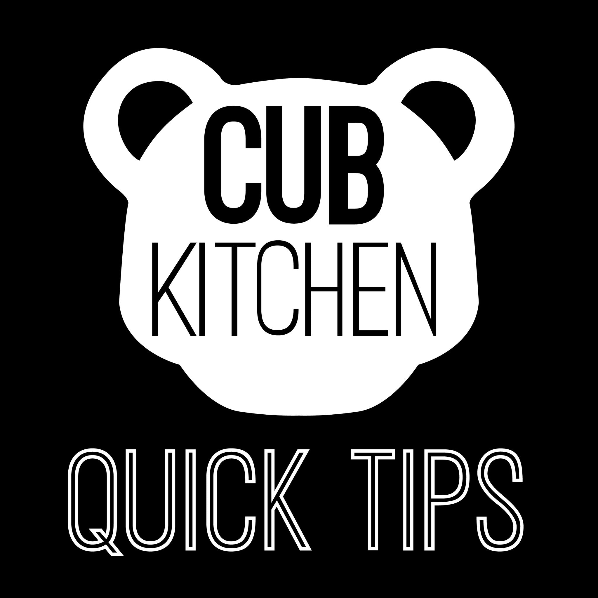 CUB KITCHEN - QUICK TIPS - STINKY SPONGE