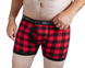 Backwoods Boxer Brief - Red 2.5 1
