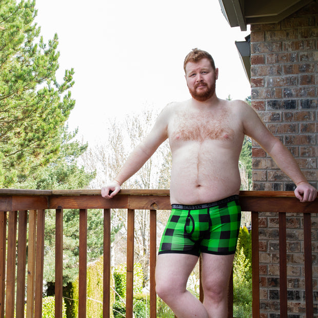 Backwoods Boxer Brief - Green 1