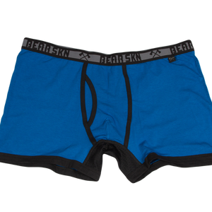 Bamboo Boxer Brief - Blueberry