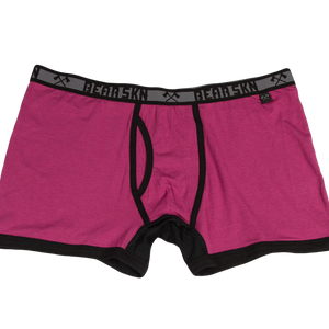 Bamboo Boxer Brief - Boysenberry