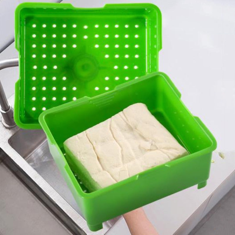 1Pc Kitchen Press Box Tofu Maker Mold Removable Cooking DIY Tofu Cutter Tool NEW