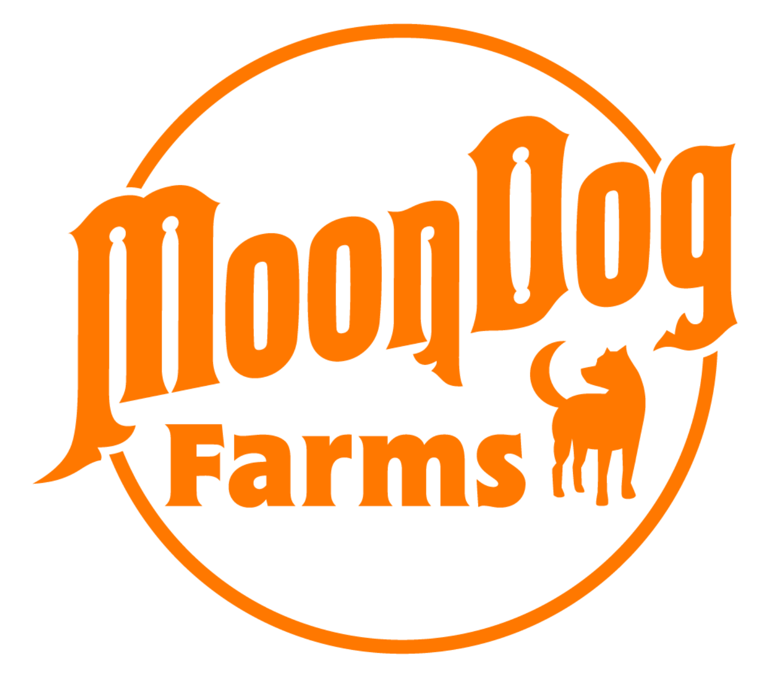 Moon Dog Farms Logo