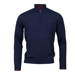 Norfolk 1/4 Zip - Navy