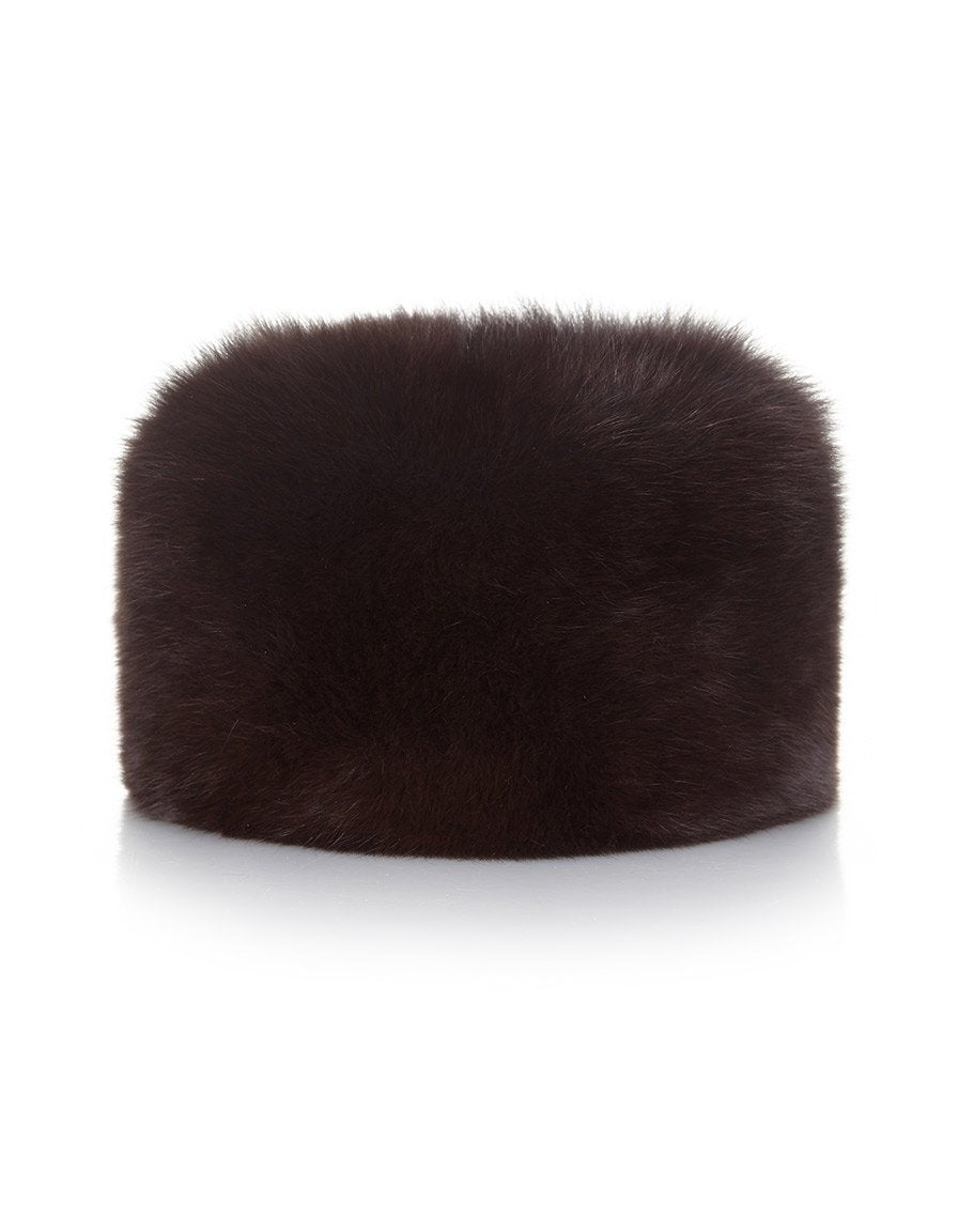 Fur Hat - Chocolate