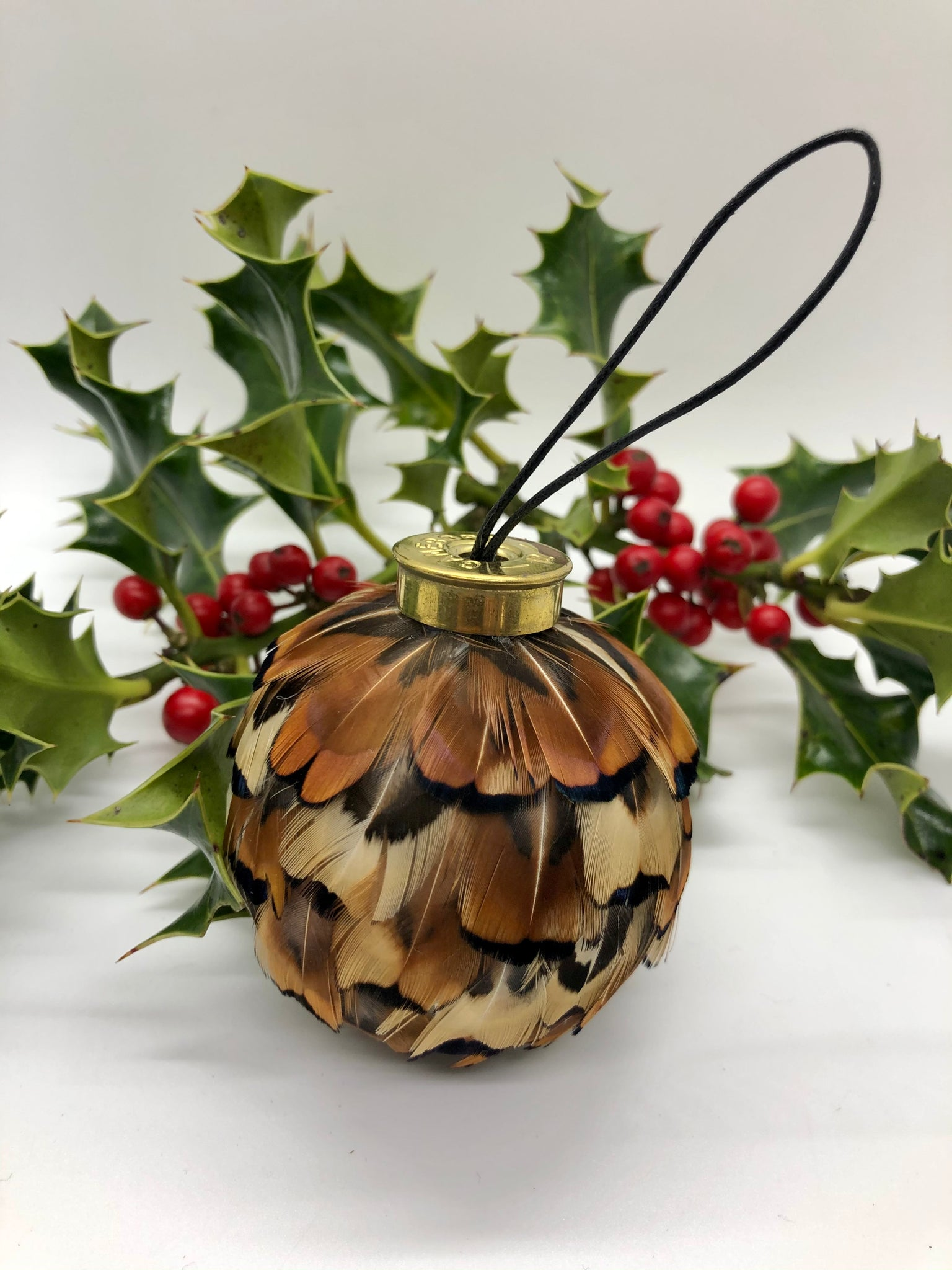 The Festive Feather Bauble