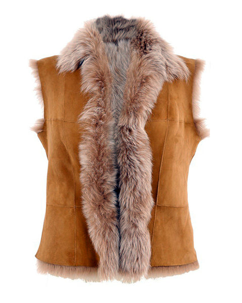 The Toscana Gilet - Whiskey