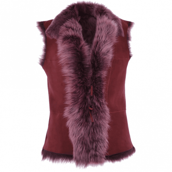 The Toscana Gilet - Berry