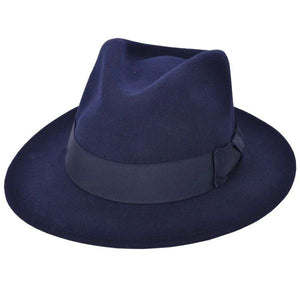 Fedora (Ribbon Band) - Navy