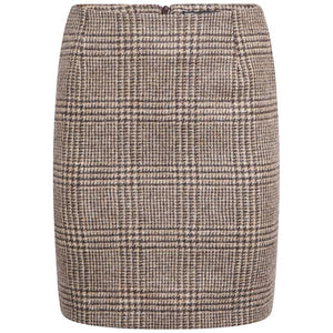 Bibury Skirt - Brown Prince of Wales