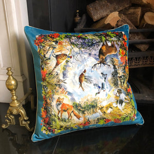 The Cushion - Teal