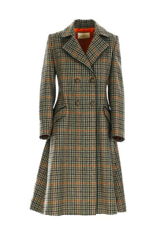 The Coat - Multi Check Green