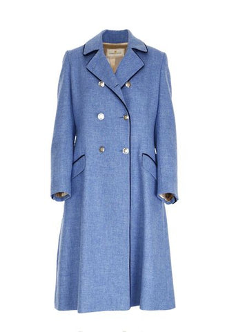 The Coat - Powder Blue