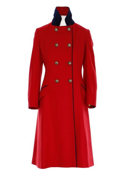The Coat - Regency Red