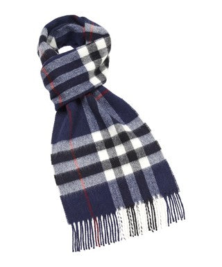 Moon Westminster Navy Scarf (25cm)
