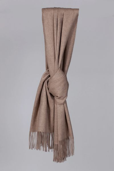Wilpshire Scarf - Organic Brown