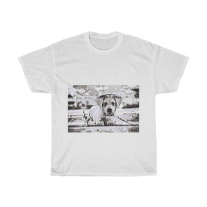 Dog, Cute, Animal, Creative, Artistic, Unisex Tee Shirt
