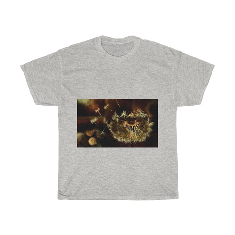 Image of Dandelion, Flower, Nature, Creative, Artistic, Unisex Tee Shirt