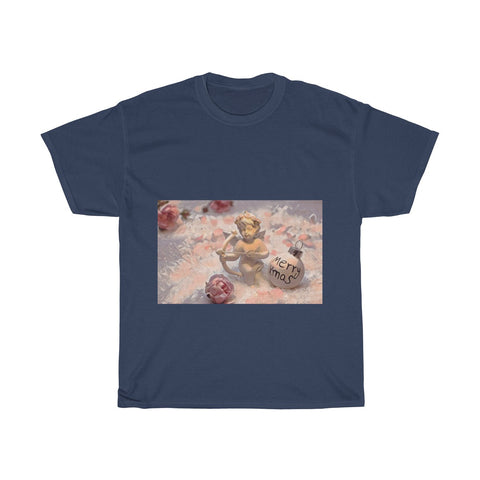Image of Cupid Archer, Christmas, Love, Artistic, Unisex Tee Shirt