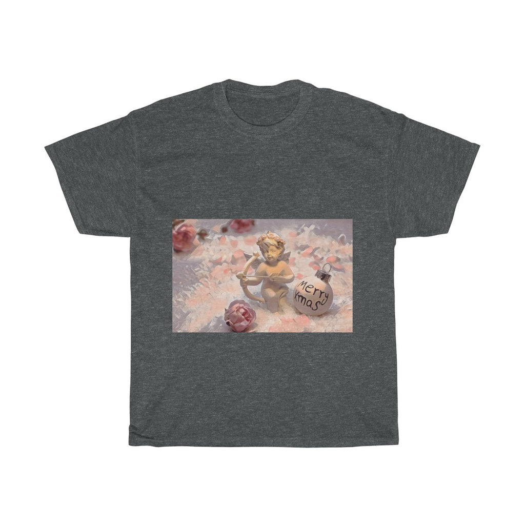 Cupid Archer, Christmas, Love, Artistic, Unisex Tee Shirt