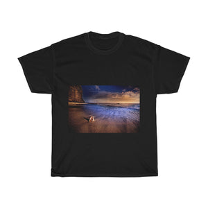 Beach, Scenery, Nature, Sea, Landscape, Creative, Artistic, Unisex Tee Shirt