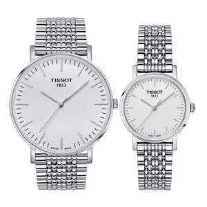 Pair D: Tissot Everytime Lady T109.210.11.031.00 & Gents T109.610.11.031.00