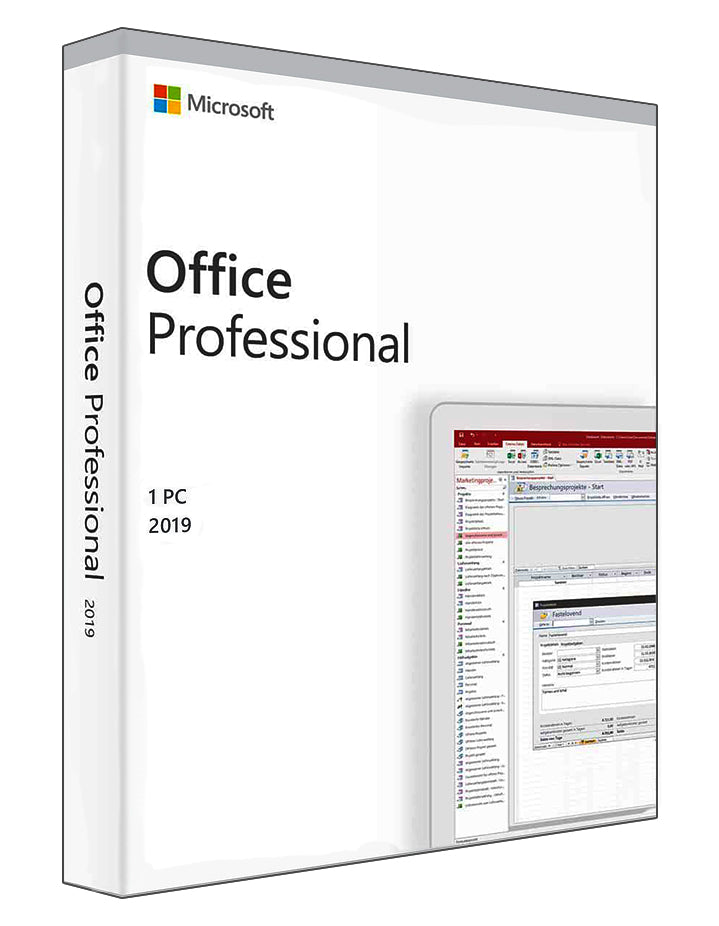 Microsoft Office Professional 2019 for Windows
