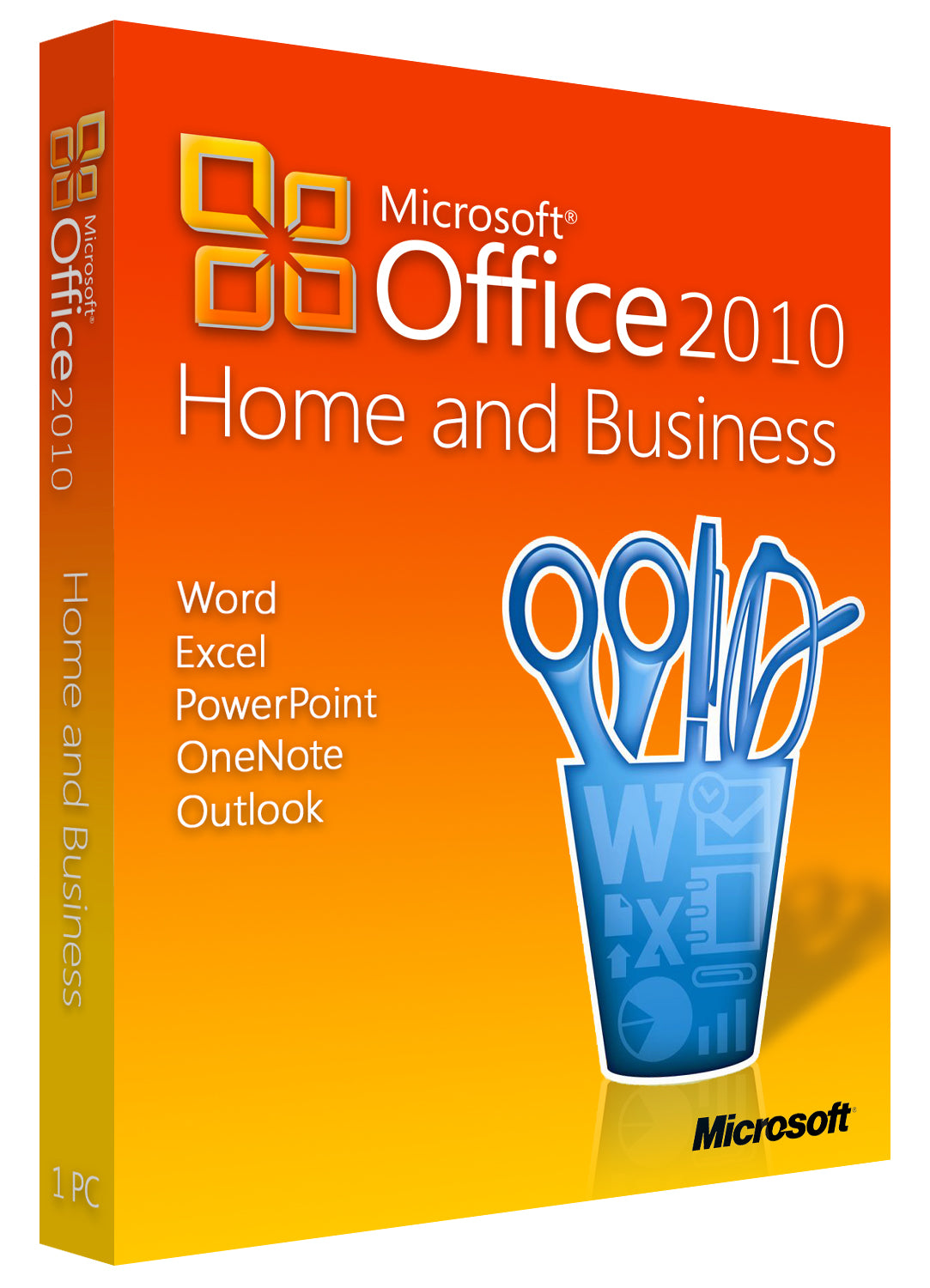 Microsoft Office Home and Business 2010 for Windows PC