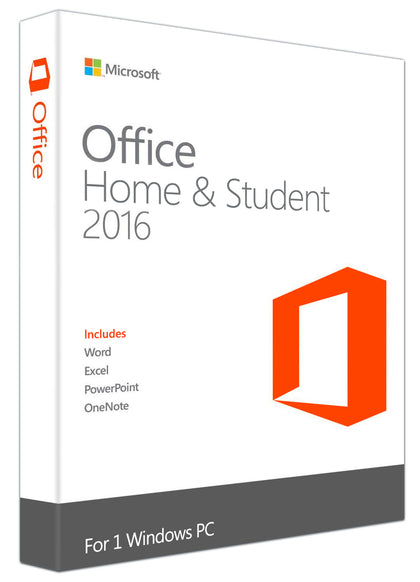 Microsoft Office Home and Student 2016 for Windows PC, xpresskey.