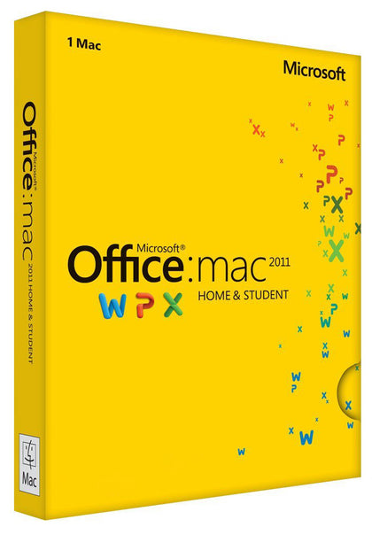 Microsoft Office Home and Student 2011 for Mac, xpresskey.