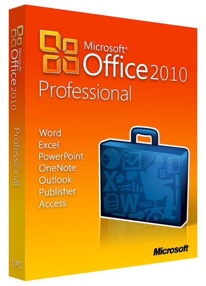 Microsoft Office Professional 2010 for Windows PC, xpresskey.