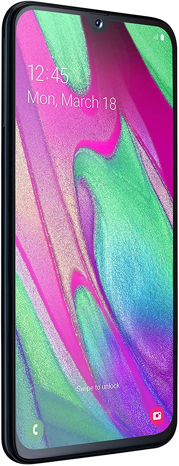 Samsung Galaxy A40 Dual-SIM 64GB Android Smartphone - Black (UK Version)