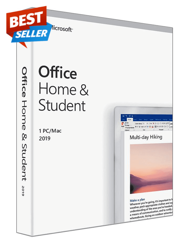 Microsoft Office Home and Student 2019 for macOS